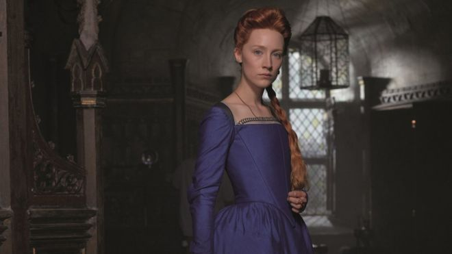 Saoirse Ronan as Mary Queen of Scots